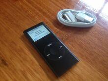 Apple iPod nano 8gb BLACK 2nd Generation Brunswick East Moreland Area Preview