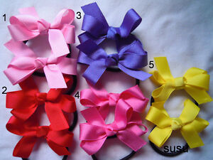 Jemlanas-school-hair-ties-for-girls-Lots-colour-to-choose-Two-hair-ties