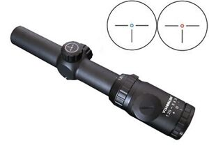 Visionking 1.25-5x26 Dual Illuminated Rifle Scope,3 Pin,Waterproof & Fogproof