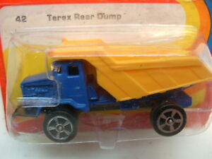 1973-CORGI-METTOY-JUNIORS-42-TEREX-REAR-DUMP-TRUCK-RED-CARD-MOC