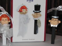 HEIRLOOM PEZ CANDY ORNAMENTS
