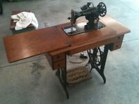 Singer Sewing Machine with power electric conversion kit incl.