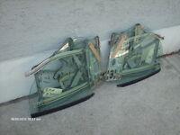 """BMW """"3-Ser."""" Cabrio ('87-'93) REAR SIDE-WINDOWS"""