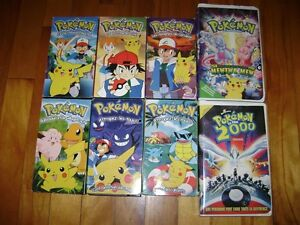 Cassettes VHS Pokémon