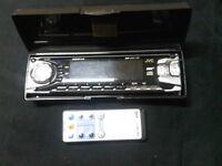 JVC car deck face plate & remote only, JVC KD-SX770