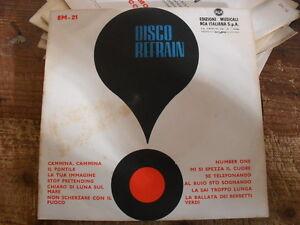 DISCO-REFRAIN-EM-21-EDIZIONI-MUSICALI-RCA-FUORI-COMMERCIO-45-GIRI