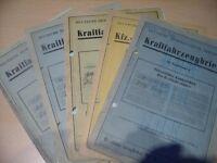 Oldtimer KFZ- Briefe Sachsen - Pirna Vorschau