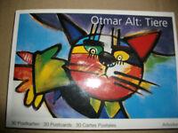 Block Postkarten AK 30 Stück Otmat Alt  Tiermotive Nordrhein-Westfalen - Hagen Vorschau