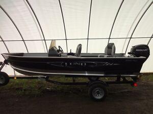 Lund Boat - 1600 Fury - 40 HP Mercury  Power Trim/Tilt  4-Stroke