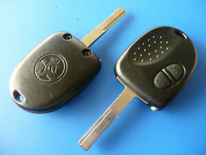 Holden Commodore 2 button Remote Car Key Complete with chip VS VR VT VX VY VZ