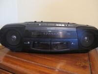 Radio AM/FM avec 2 Tape Deck