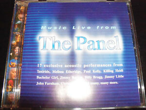 The-Panel-Music-Live-from-TV-Soundtrack-CD-Jimmy-Barnes-Colin-Hay-Billy-Bragg