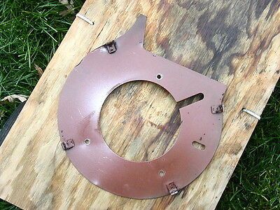 Wisconsin Engine S-10d S-12d S-14d Backplate For Flywheel Shroud Part Se-301