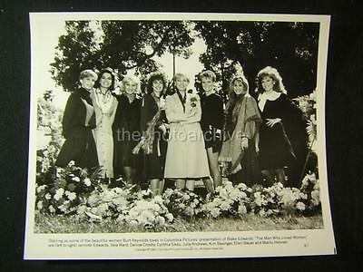 1983 Julie Andrews Kim Basinger The Man Who Loved Women Vintage Movie Photo 715W