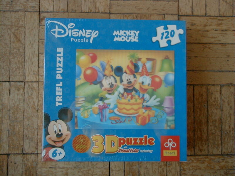 PUZZLE 3D_120 ELEMENTÓW MICKEY MAUSE