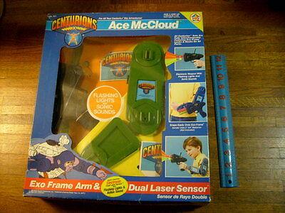 Centurions, Ace Mccloud Exo Frame Arm & Dual Laser Sensor