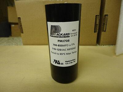 Packard PMJ708 Motor Start Capacitor 708-850 MFD 110-125 VAC  for sale  Lawrenceburg