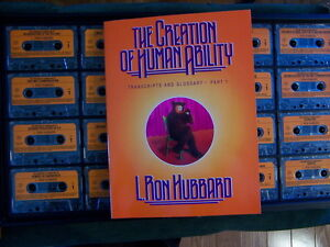 Creation of Human Ability 8th ACC lectures by L. Ron Hubbard Edmonton Edmonton Area image 1