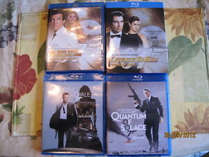 James Bond blu-ray