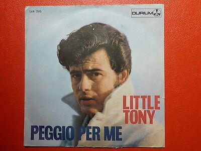 LITTLE TONY Peggio per me LDA 7515 ITALIE