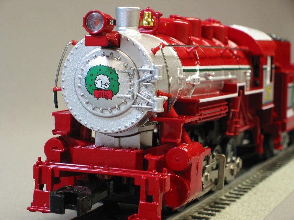 Lionel Peanuts Christmas Steam Locomotive/tender Train O Gauge Engine 6-30193-e