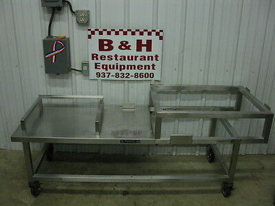 71 Stainless Steel Heavy Duty Equipment Griddle Stand Table 6
