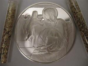 1 3 Oz 925 Silver Proof Coin Madonna Of Stairs Genius
