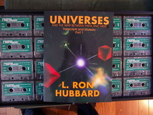 Universes - 5th American ACC lectures by L. Ron Hubbard Edmonton Edmonton Area image 1