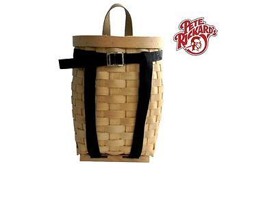 Pete Rickard - Hand Made 13 Trapping Pack Basket Made In Usa