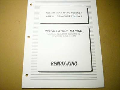 King KGS 681 and KGM 691 Install Manual