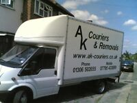 Man and Van 3.5t tail lift Removals Dorking caterham Redhill Oxted Reigate