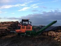 FIREWOOD PROCESSOR FOR HIRE,LANCASHIRE NORTH WEST AREA!!