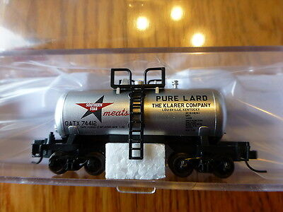 Atlas N 50001012 Southern Star Lard Beer Can Tank Car Rd 74412