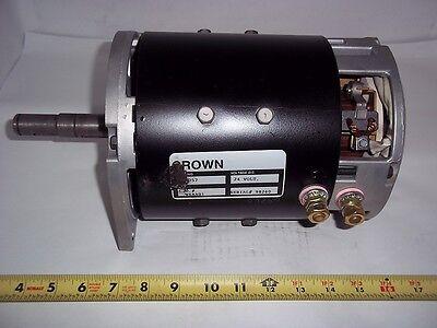 20057 Crown Forklift Rebuilt Motor 24 Volt W6aa01