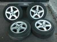 15 inch 4x100 mm alloy rims