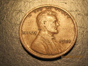 1921 P  Lincoln Wheat Cent  ~ Solid Album Coin ~