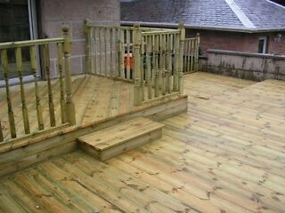 Garden Decking Services By Greenfellas deck installers