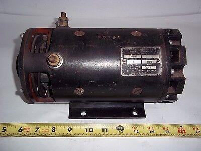 2302152 Clark Forklift Rebuilt Motor Aux Pump 36-48 Volt