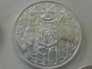 1966 SILVER ROUND FIFTY Cent