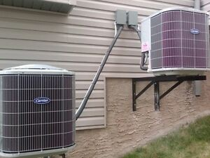 Affordable air-conditioning and tankless water heaters