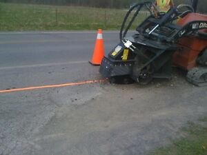 Post Hole Drilling Trenching Small Hydro Excavation Vaccum Belleville Belleville Area image 7