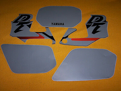 Stickers Yamaha Dtr 125 Yamaha Dtr 125 Black Stickers