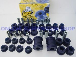 Toyota Corolla AE92 AE93 AE94 SUPER PRO Front & Rear Suspension Bush Kit