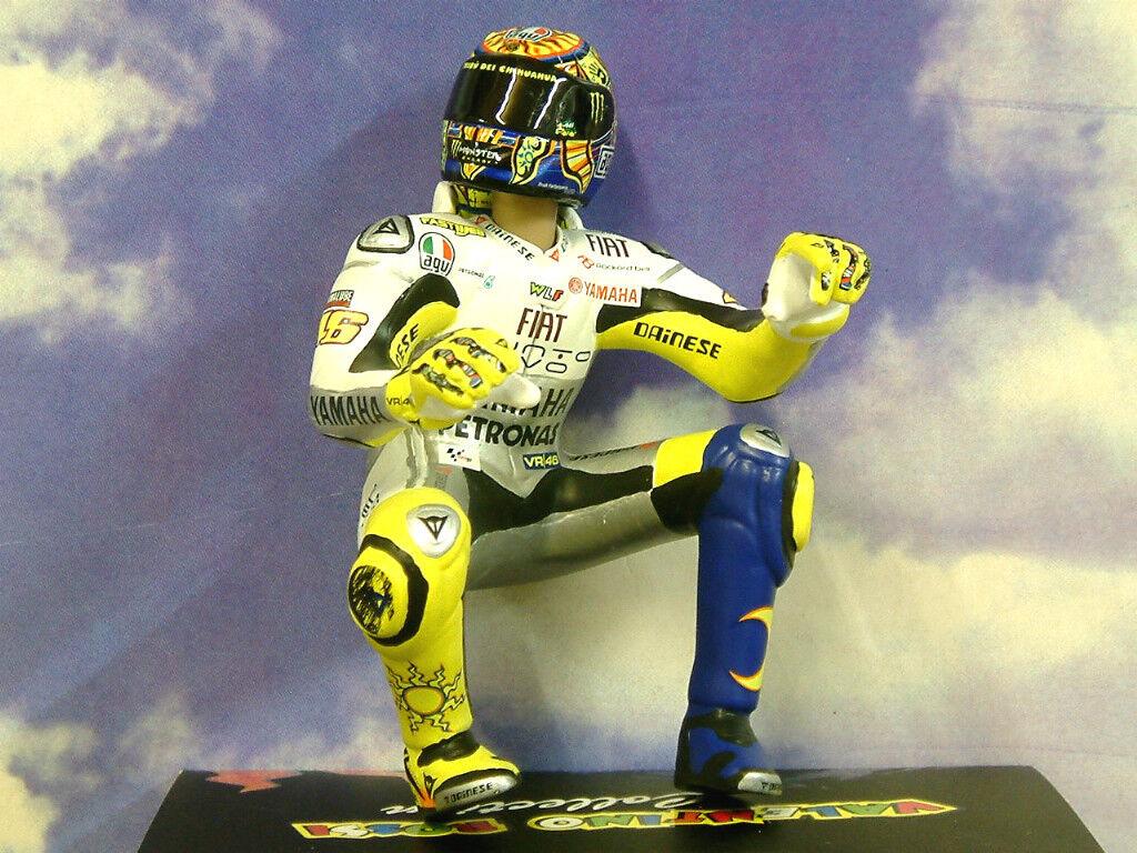 Minichamps 1/12 Valentino Rossi Figure Motogp Estoril 2009 2,999 Pieces Only