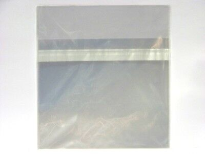 100 x New Resealable Clear Plastic Storage Sleeves for regular CD Jewel Cases