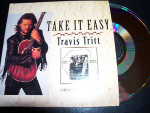 Take-it-Easy-Travis-Tritt-Rare-Australian-CD-Single