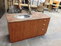 meuble armoire vanité contoir  de coin mobilier de cuisine