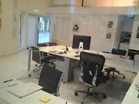 Large desk for 1 or 2 people to rent in modern office, near Lambeth Bridge, SE1