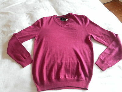 Mens Jeff Banks Jumper Size S Colour Pink 011001