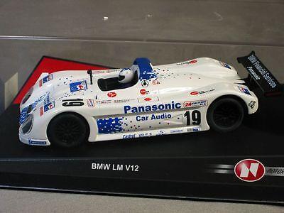 Ninco 1/32 Bmw V12 Lm Panasonic Slot Car 50201